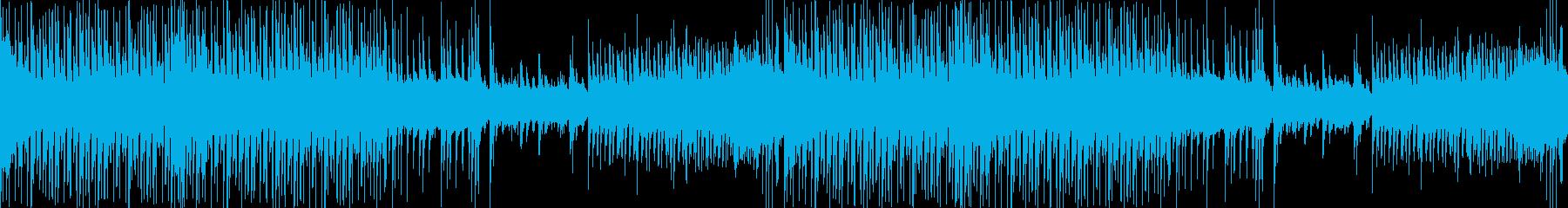 わくわく楽しい三味線・和風EDMの再生済みの波形
