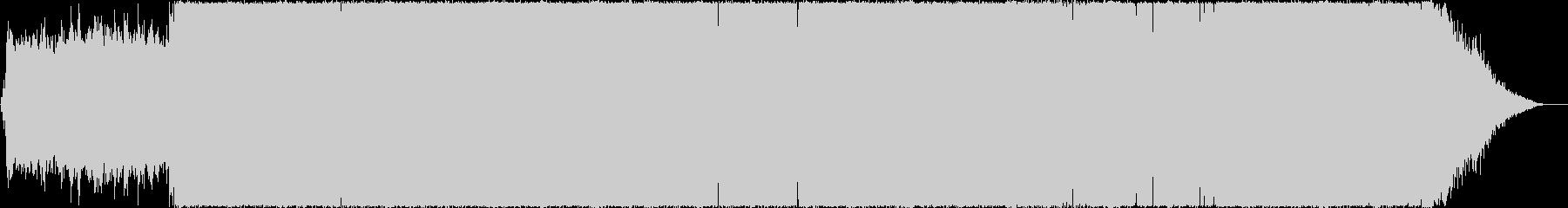 和の要素を散りばめたハウス調ラップ曲の未再生の波形