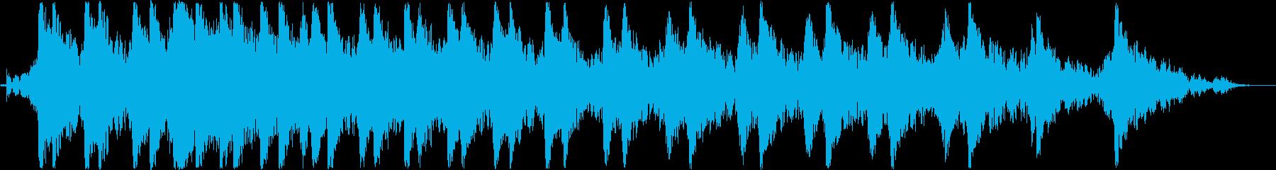 バイク・チェーンソーのエンジン音(A)の再生済みの波形