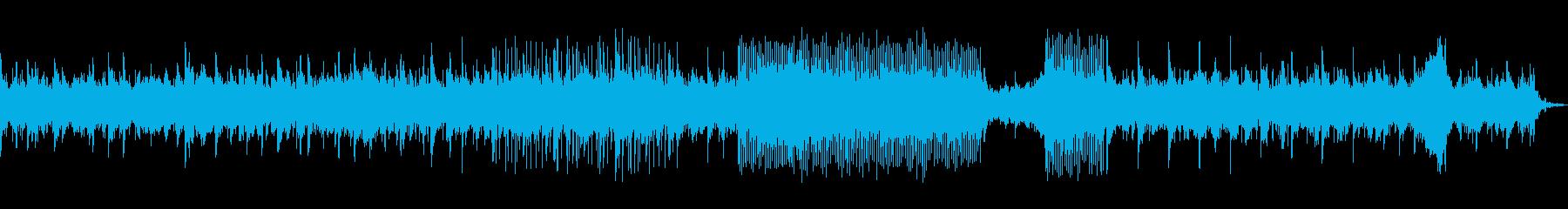 シンセを使ったインストの再生済みの波形
