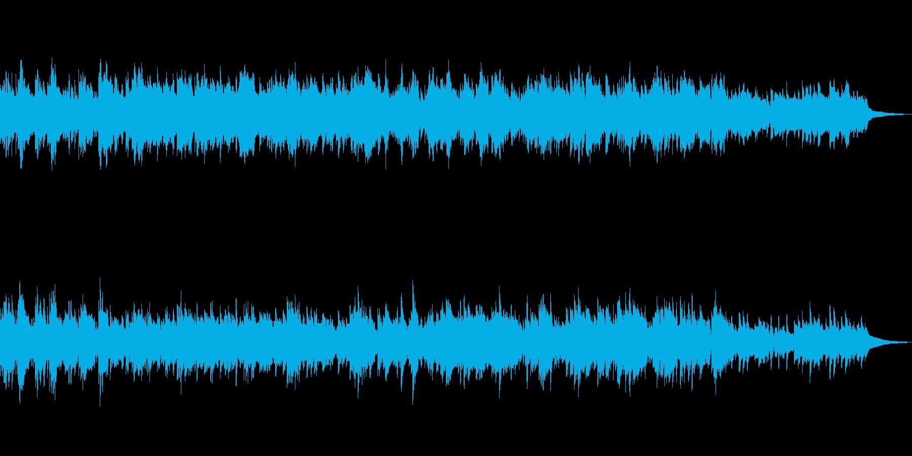 アンニュイで穏やかな ピアノ・バラードの再生済みの波形