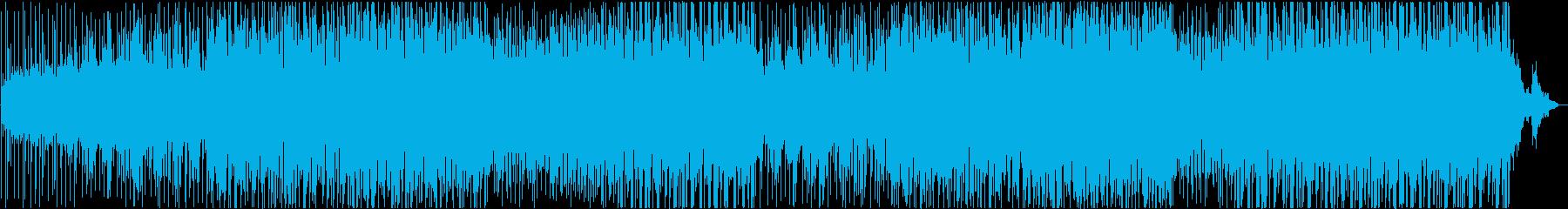 ビーチリゾートで流れるチルアウトの再生済みの波形