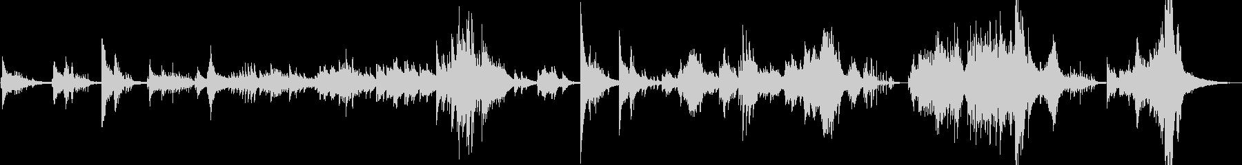 ヨーロピアンジャズを意識したピアノ即興。の未再生の波形
