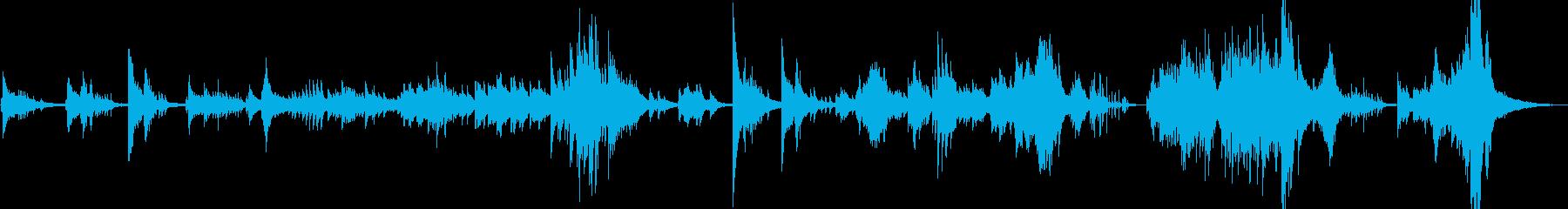 ヨーロピアンジャズを意識したピアノ即興。の再生済みの波形