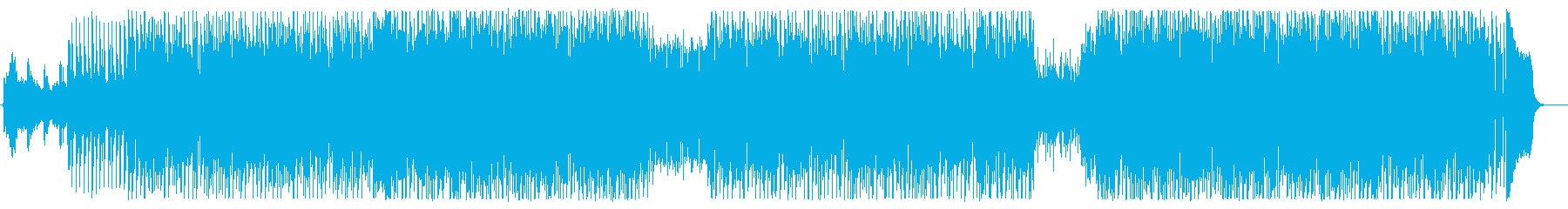わくわく感のある現代シンセサイザーポップの再生済みの波形