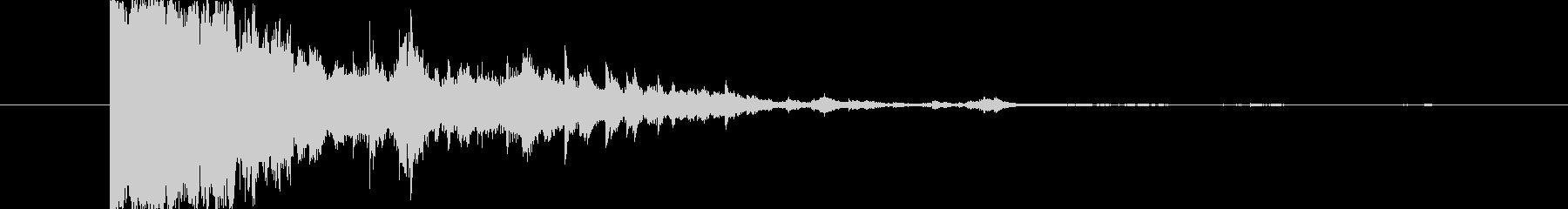 アタックのあるキラキラ〜の未再生の波形
