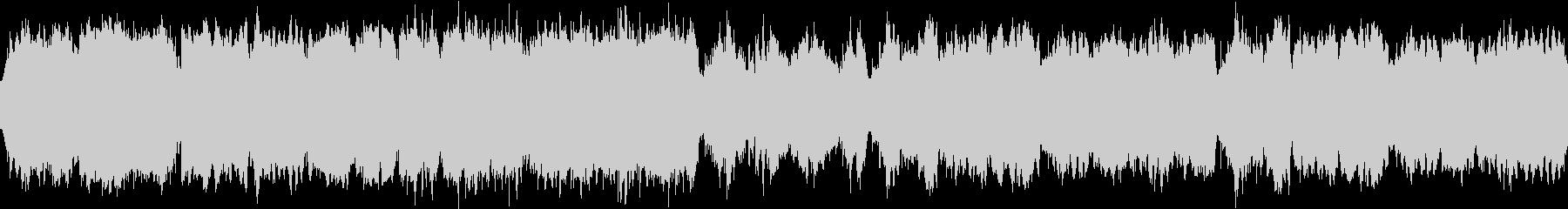 不吉な予感 ループの未再生の波形