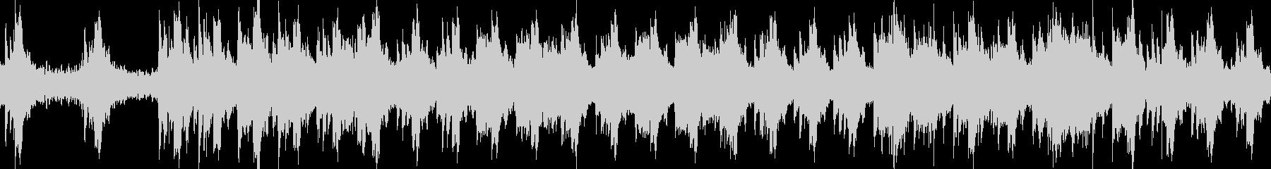 ヒーリング 癒やし ピアノ ハープループの未再生の波形
