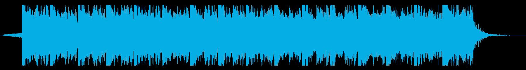 ハリウッド映画風の壮大オーケストラ14cの再生済みの波形