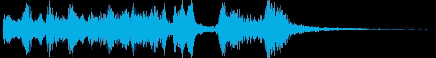ゲームオーバー 失敗 不正解 コミカルの再生済みの波形