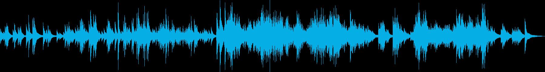 嫌な思い出(ピアノ・暗い・過去)の再生済みの波形