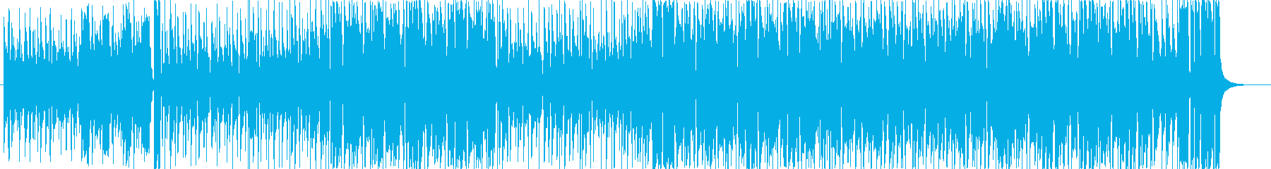 夏らしい元気で爽やかなフュージョン伴奏版の再生済みの波形