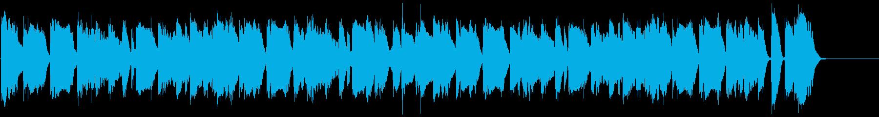動画広告 30秒 フルートA 日常の再生済みの波形