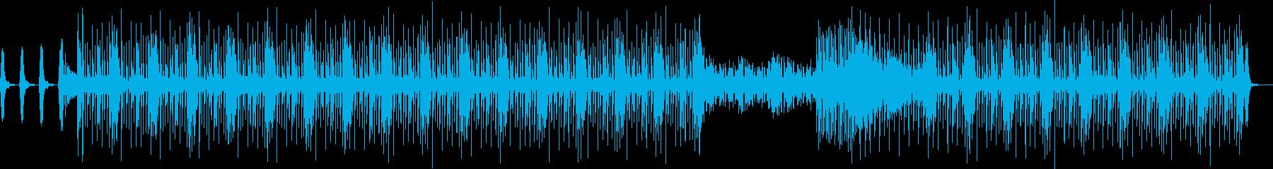 変幻自在・怪しい雰囲気漂う EDMの再生済みの波形