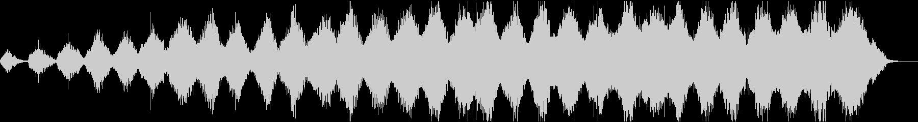 アンビエントミュージック 感情的 ...の未再生の波形