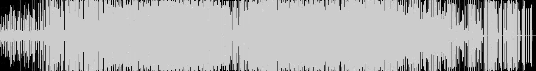 定番クラブサウンドの未再生の波形
