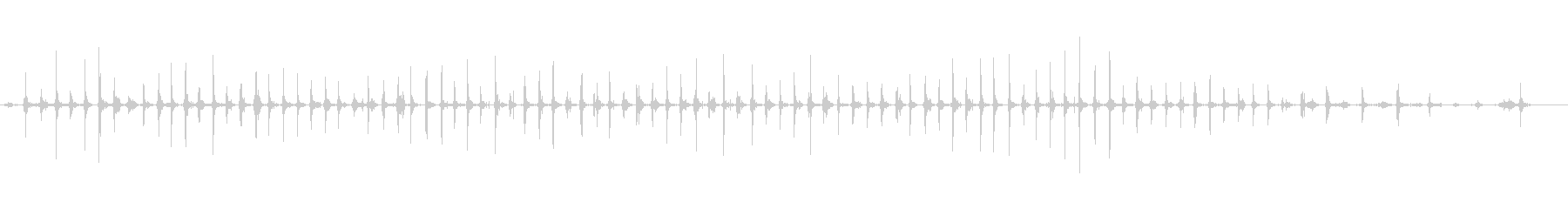 フォレスト:ヘビーブーツ:ランニン...の未再生の波形