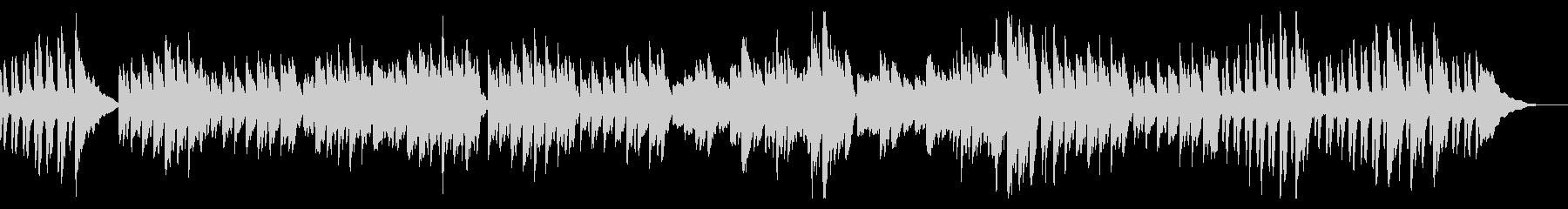 ピアノ練習曲/ブルグミュラー狩の未再生の波形