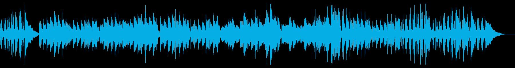 ピアノ練習曲/ブルグミュラー狩の再生済みの波形