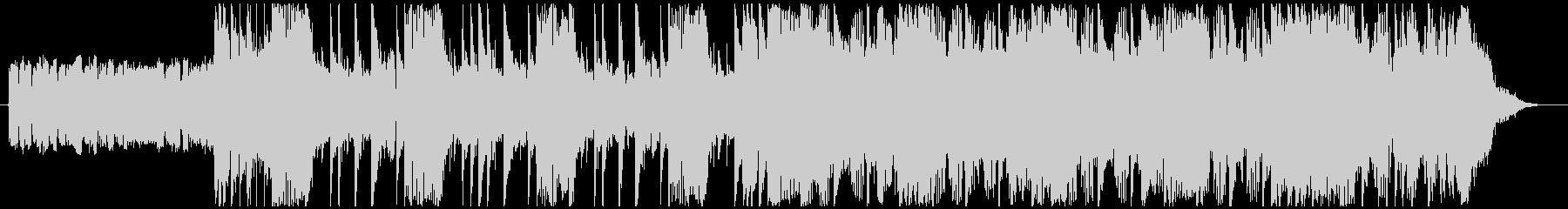 洋画で悪者が登場するシーンの曲-30秒の未再生の波形