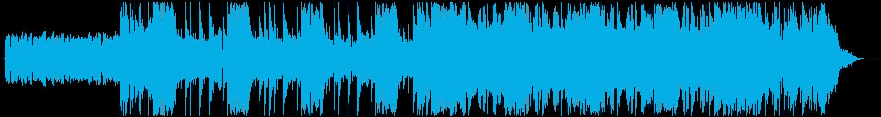 洋画で悪者が登場するシーンの曲-30秒の再生済みの波形