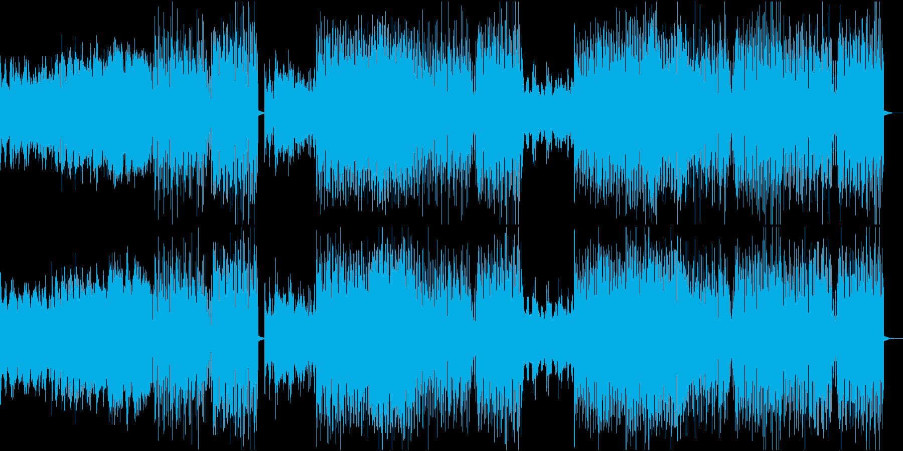 トロピカルハウス、ダンスミュージックの再生済みの波形