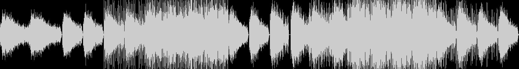 透明感と疾走感のあるドラムンベースの未再生の波形
