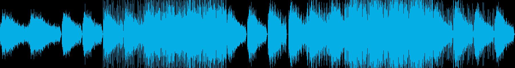 透明感と疾走感のあるドラムンベースの再生済みの波形