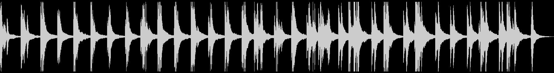 物悲しいソロピアノ曲 情緒的、切ないの未再生の波形