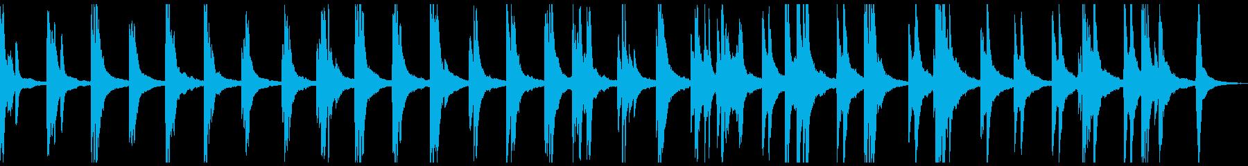 物悲しいソロピアノ曲 情緒的、切ないの再生済みの波形