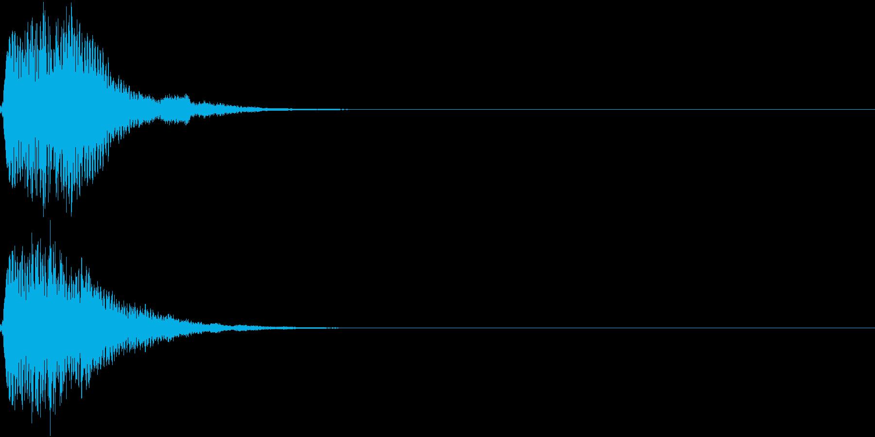 キュイン キーン シャキーン 光る 19の再生済みの波形