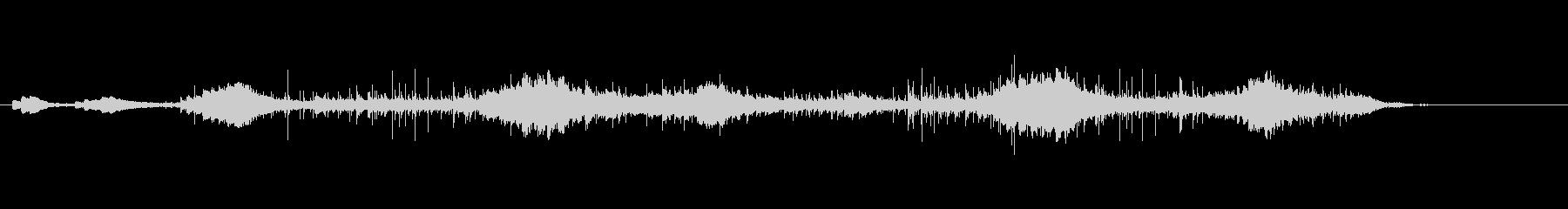 ピアノアンビエントの未再生の波形