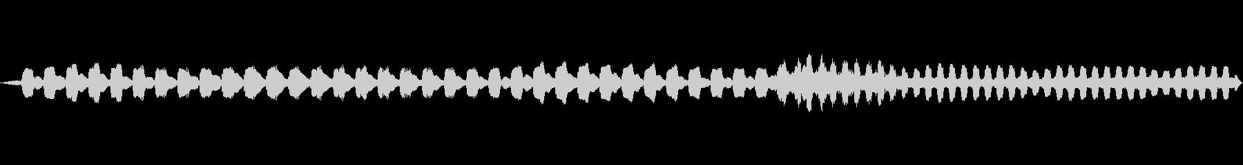 照準音(ロックオン)の未再生の波形