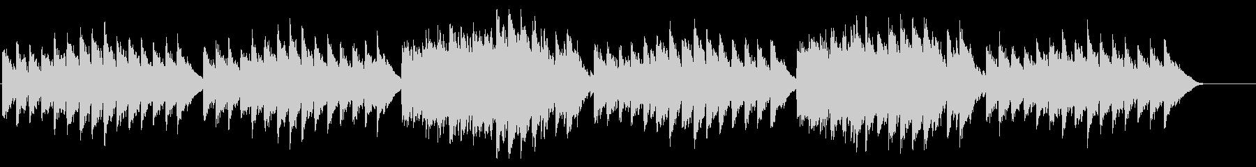 キラキラ星変奏曲(Var Ⅵ)オルゴールの未再生の波形