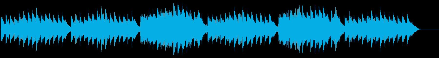キラキラ星変奏曲(Var Ⅵ)オルゴールの再生済みの波形