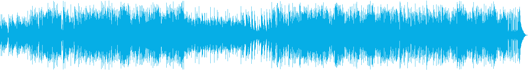 オープニングに最適なトランスBGMの再生済みの波形