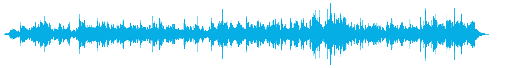 ベル キラキラ リバーブの再生済みの波形