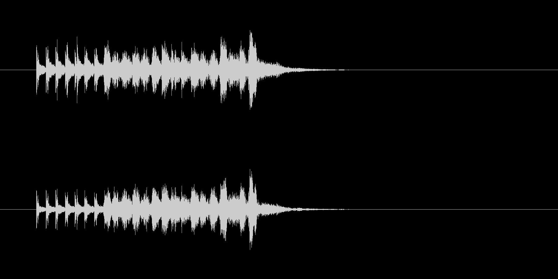 打楽器 コミカル 変 ポップの未再生の波形