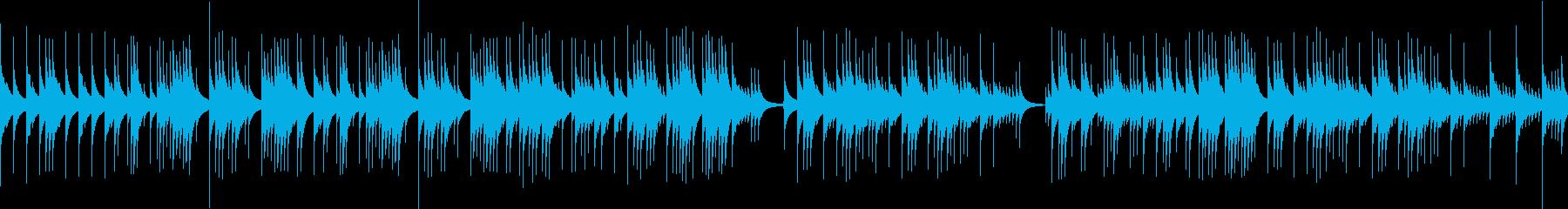 【オルゴール】星空の下、二人(ループ)の再生済みの波形