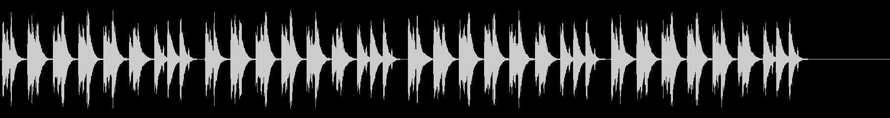 ほのぼの系の日常曲の未再生の波形