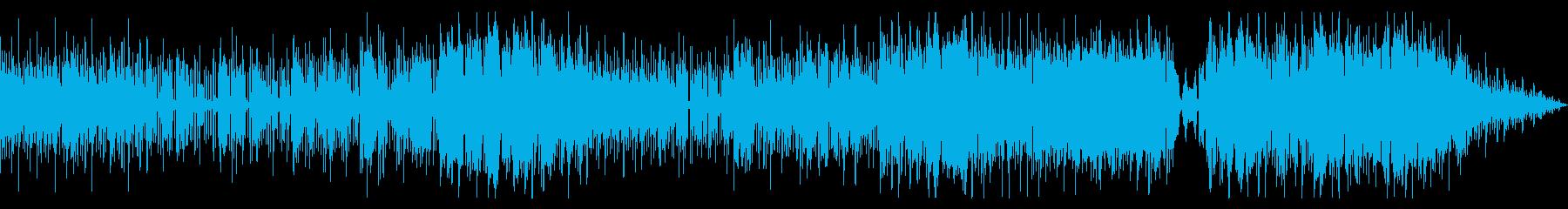シンセが美しい歌ものバラードの再生済みの波形