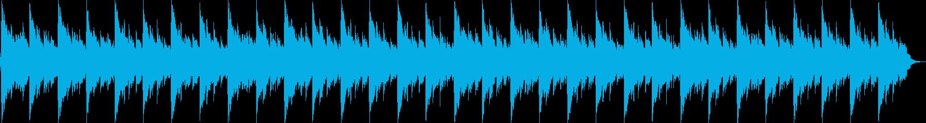 浮遊感のある短い曲です。の再生済みの波形