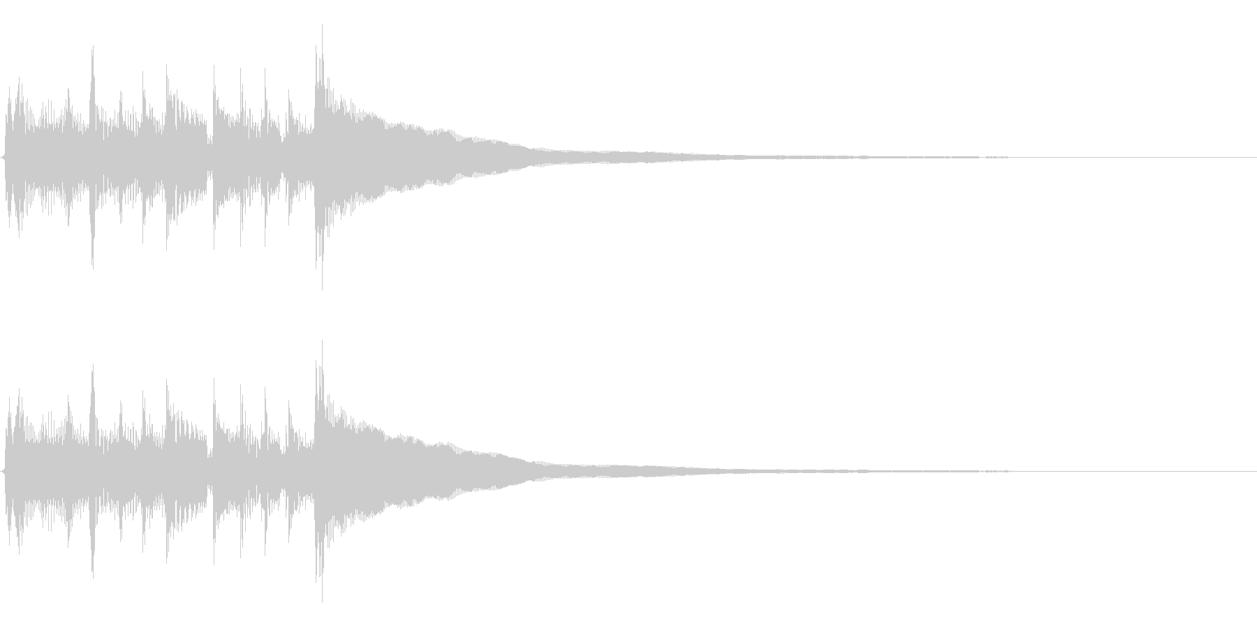 ★2本のアコギジングル/生音、爽やかの未再生の波形
