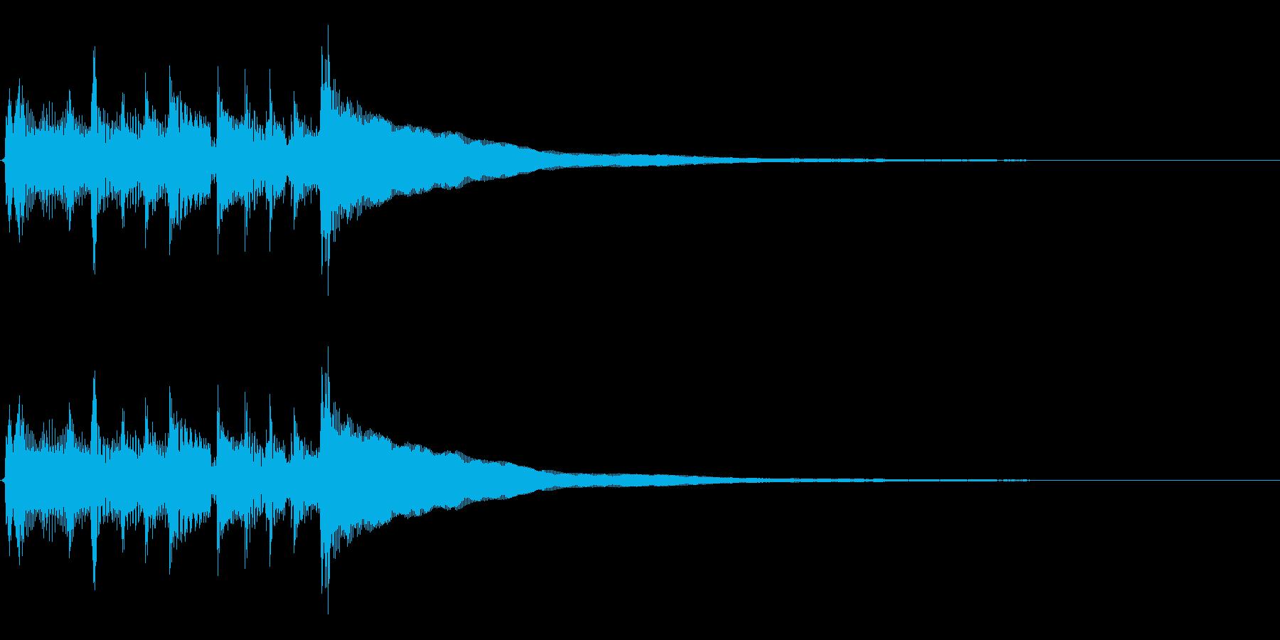 ★2本のアコギジングル/生音、爽やかの再生済みの波形