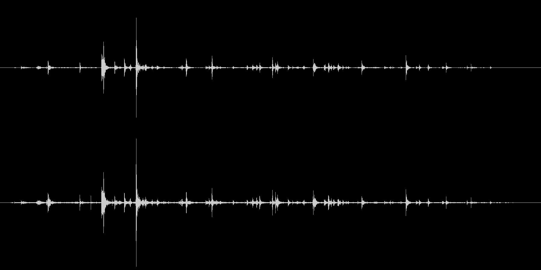 石 ミディアムフォールロング01の未再生の波形