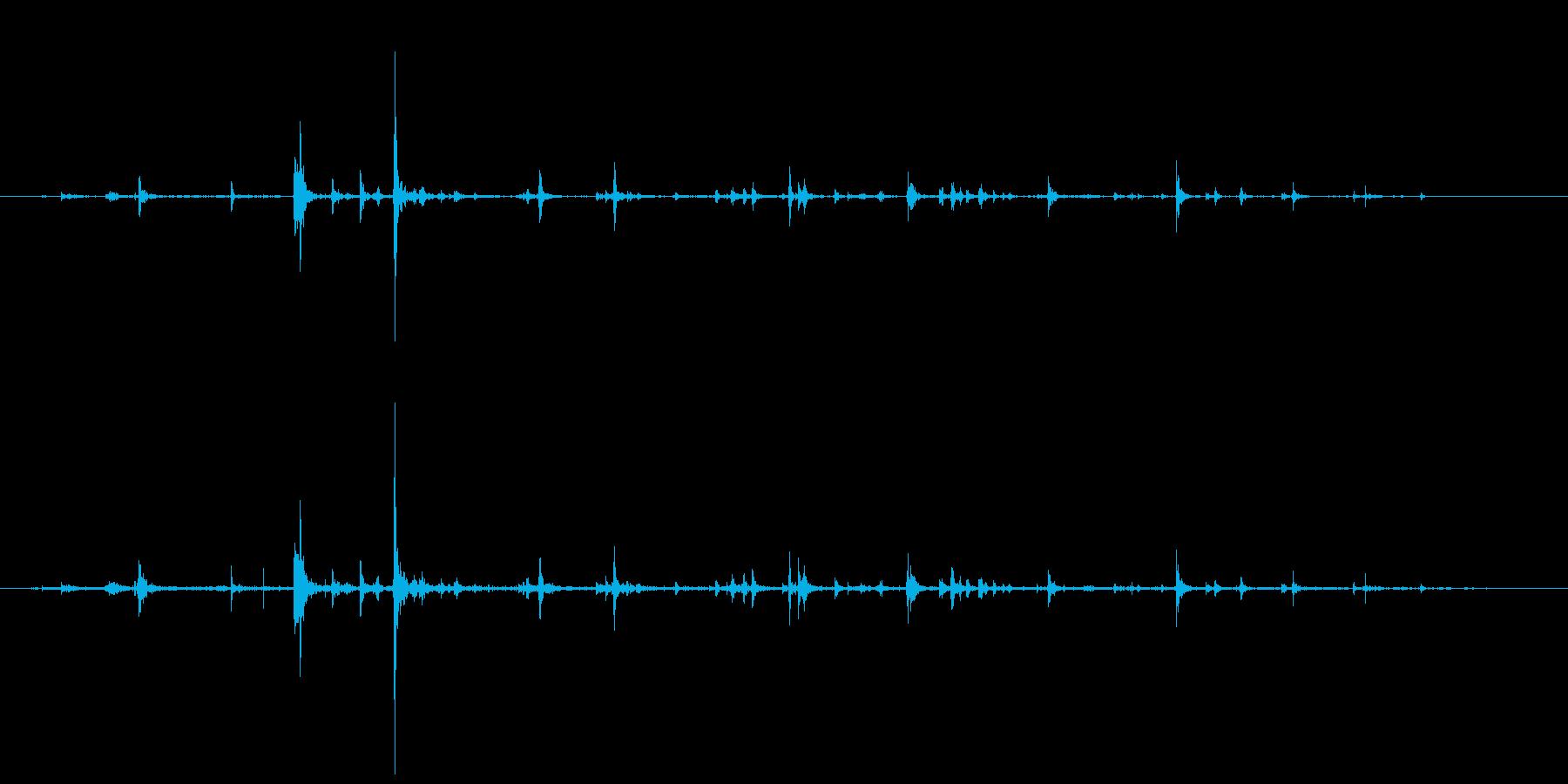 石 ミディアムフォールロング01の再生済みの波形