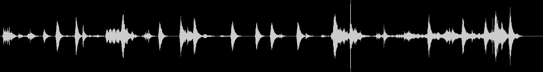 コウモリ、山の鳴き声。洞窟の中のコ...の未再生の波形