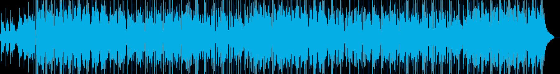 ゆったりとくつろげるアコギポップスの再生済みの波形