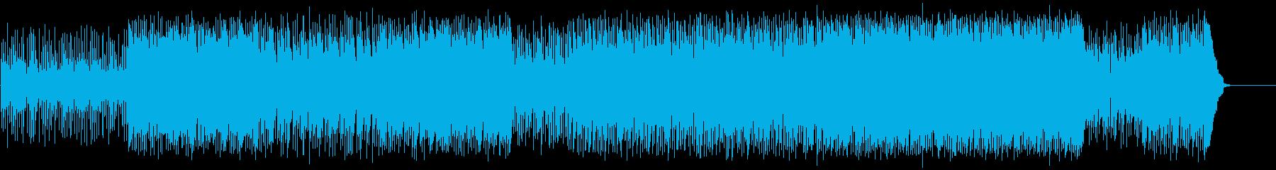 壮大なドキュメント向けワールド音楽の再生済みの波形