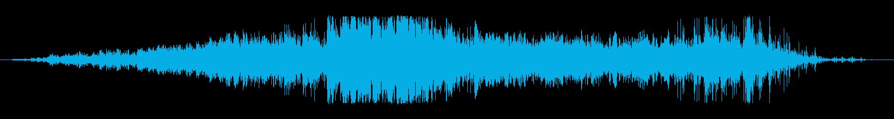 ウェーブビッグスウェルの再生済みの波形